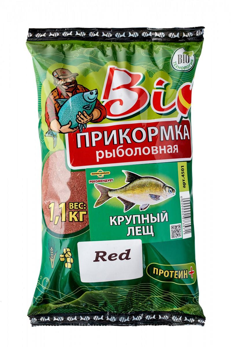 прикормка красного цвета